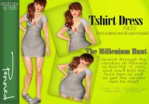 Tshirt Dress Mil Hunt